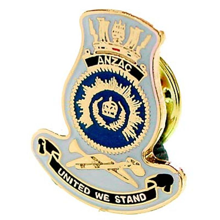 HMAS Anzac Lapel Pin