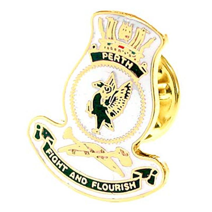 HMAS Perth Lapel Pin
