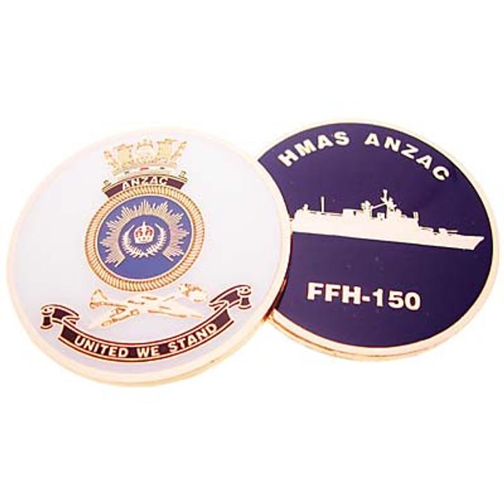 HMAS Anzac Medallion