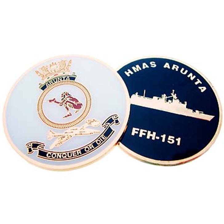HMAS Arunta Medallion