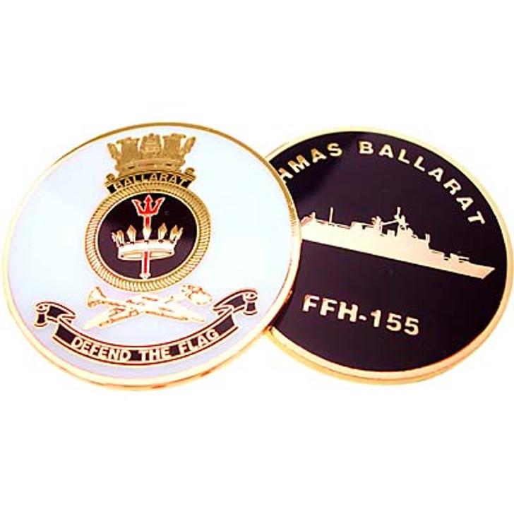 HMAS Ballarat Medallion