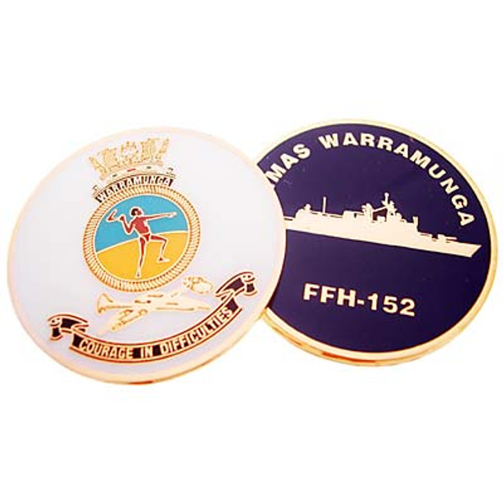 HMAS Warramunga Medallion