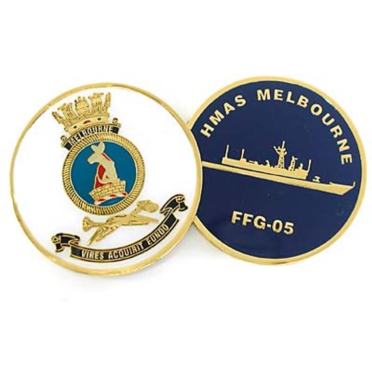 HMAS Melbourne Medallion