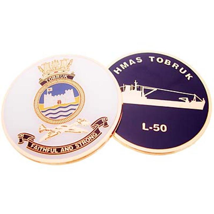 HMAS Tobruk Medallion