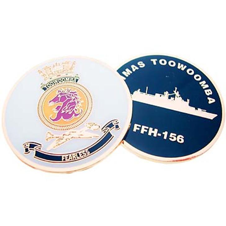 HMAS Toowoomba Medallion