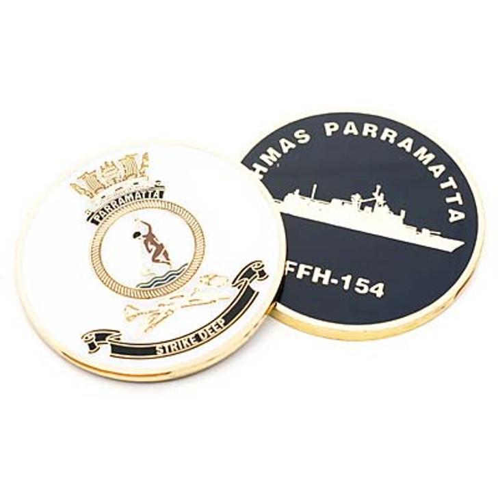 HMAS Parramatta Medallion
