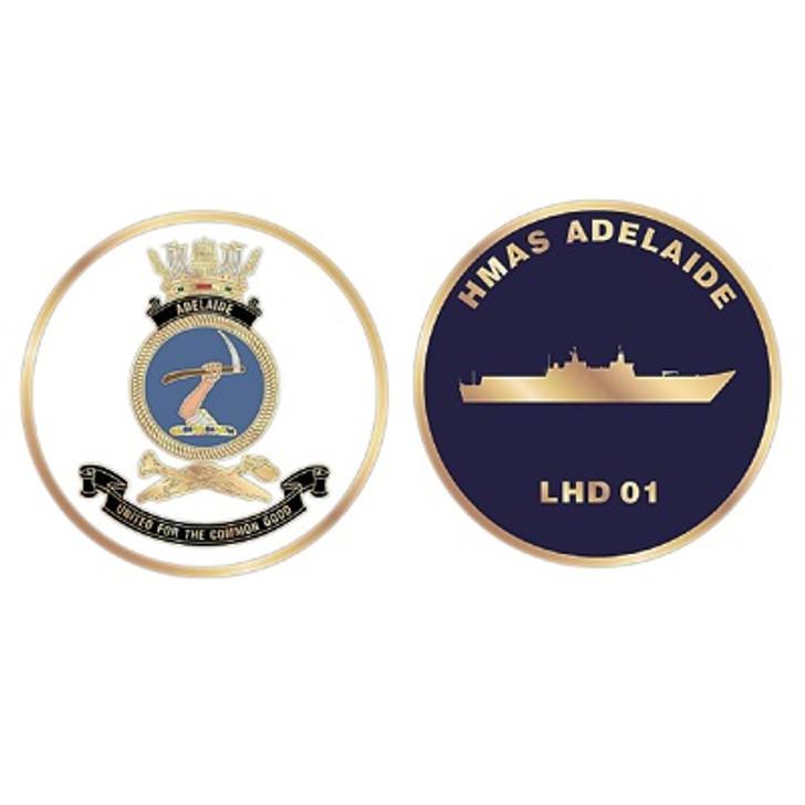 HMAS Adelaide Medallion
