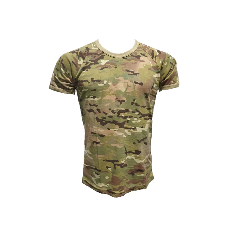 Kids Crew Army /& Military Auscam T Shirt