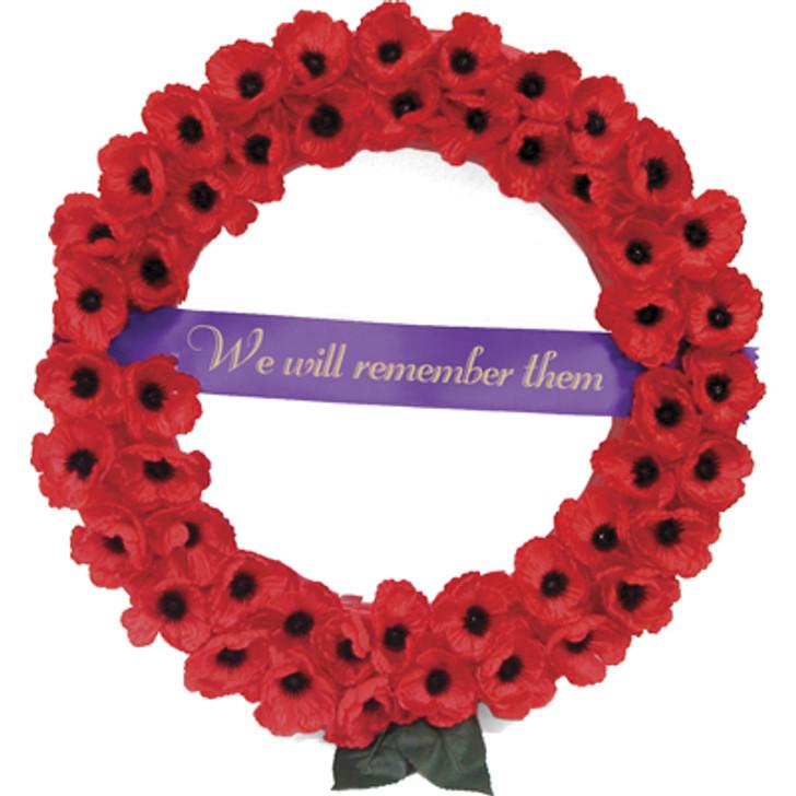 Poppy Remembrance Wreath