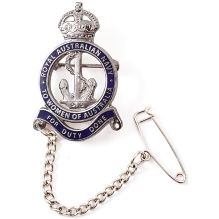 First World War RAN Female Relatives Badge In Box