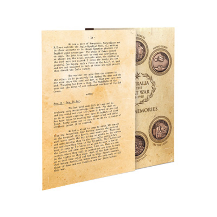 Great War 1915 S3 Penny Set w/Diary pages