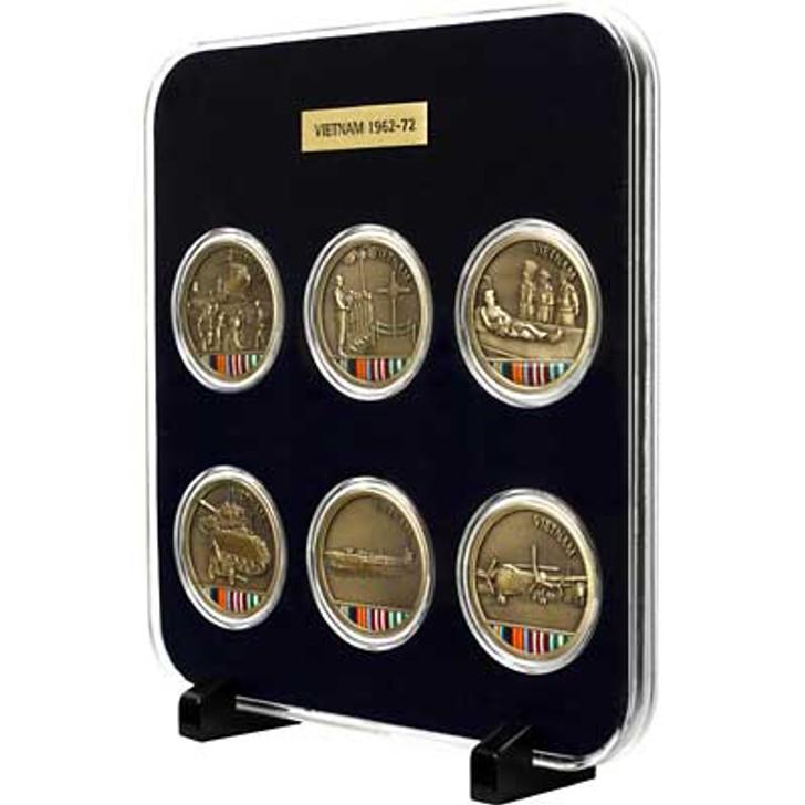 Vietnam Medallions Set Of Six