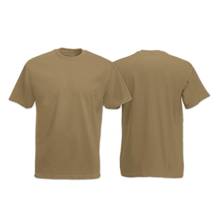 100% Cotton Undershirt Khaki