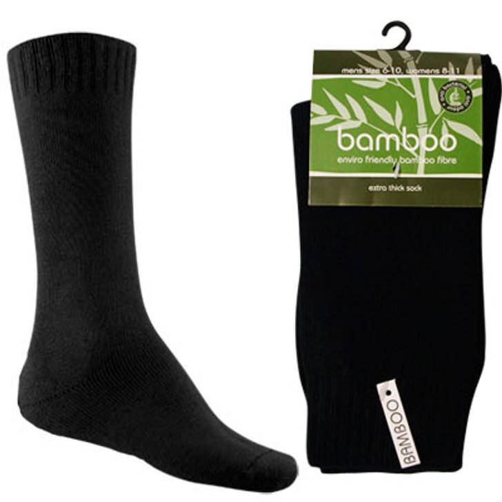 Extra Thick Bamboo Socks BK
