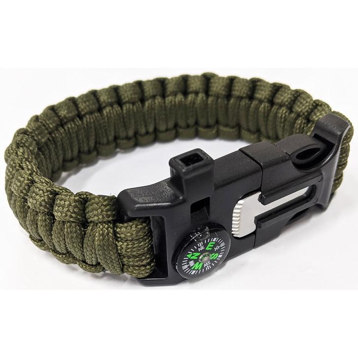 Paracord Bracelet Army Green