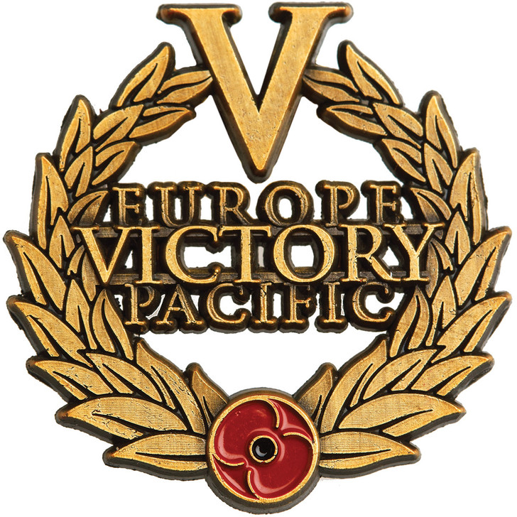 WW2 Victory Lapel Pin