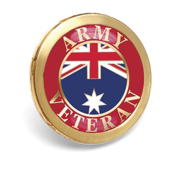 Army Veteran Badge