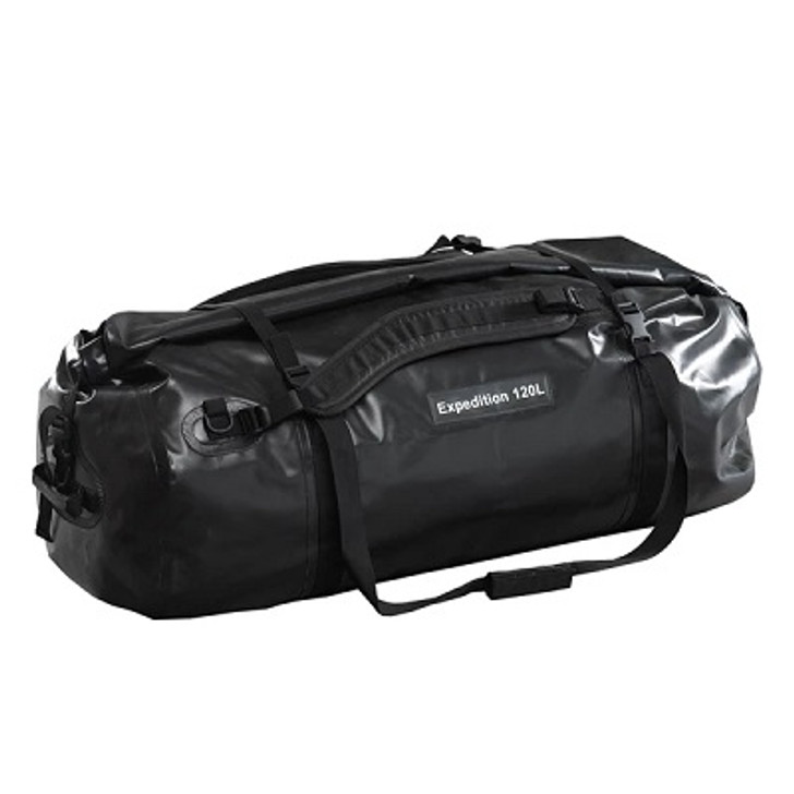 Caribee Expedition Wet Roll Bag 120L Black