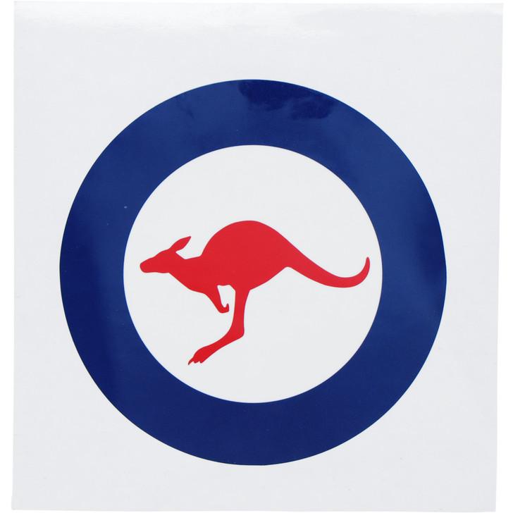 Air Force Round Sticker