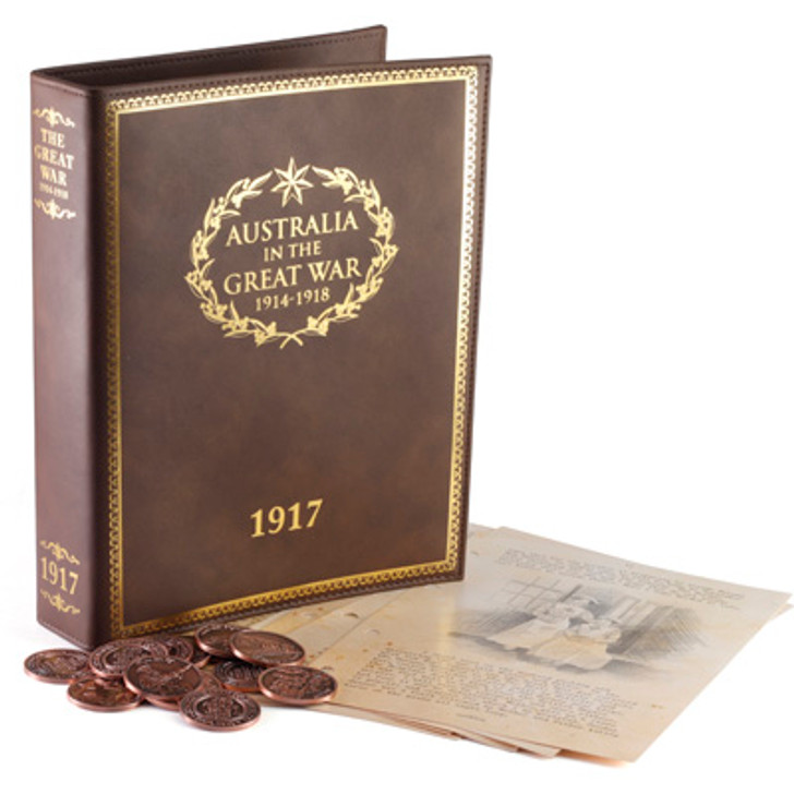Great War 1917 Diary S1-4 Collection
