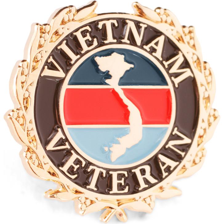 Vietnam Tri Colour Veteran with laurels badge