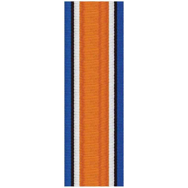 British War Medal Full Size (ribbon only) per cm