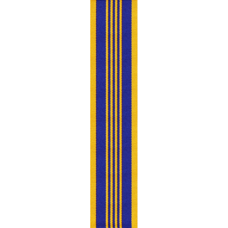 Defence Long Service Medal Full Size (ribbon only) per cm