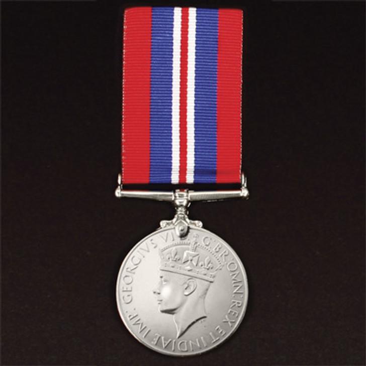 War Medal 1939 - 1945 (medal & ribbon)