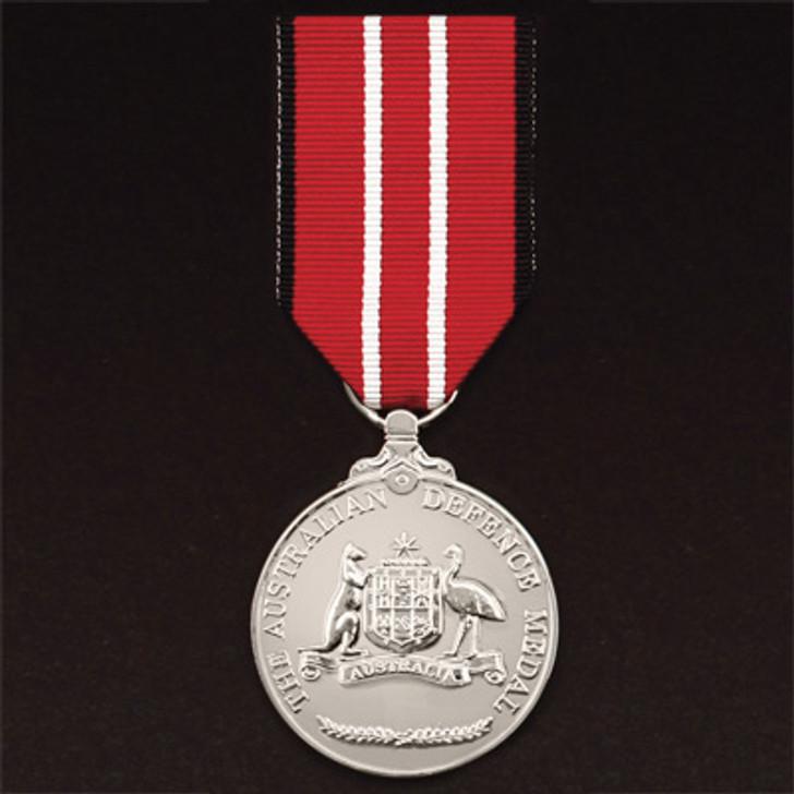 Australian Defence Medal Miniature (medal & ribbon)
