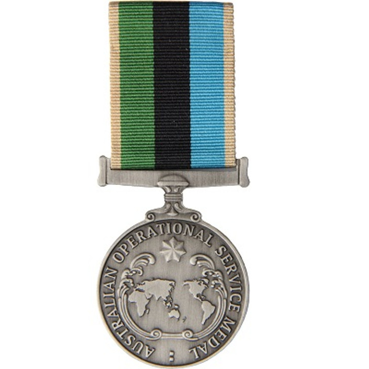AOSM - Greater Middle Eastern Operation Miniature (medal & ribbon)