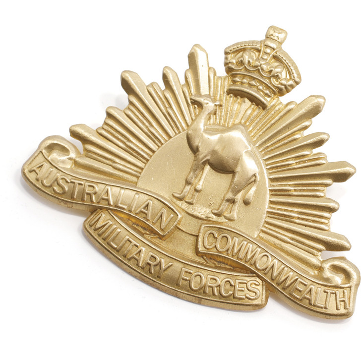 Great War Camel Corps Hat Badge