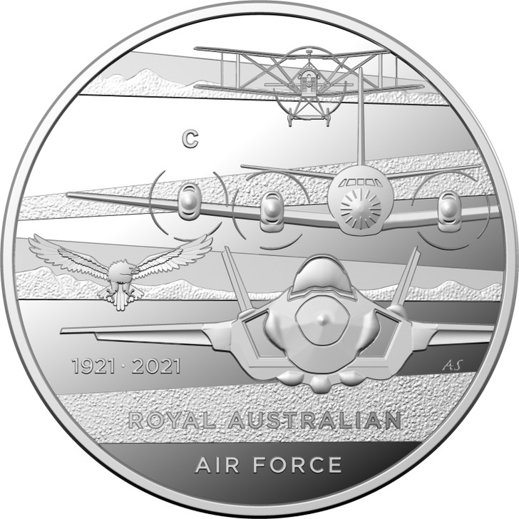 Air Force 100 RAAF $1 Silver Proof Coin