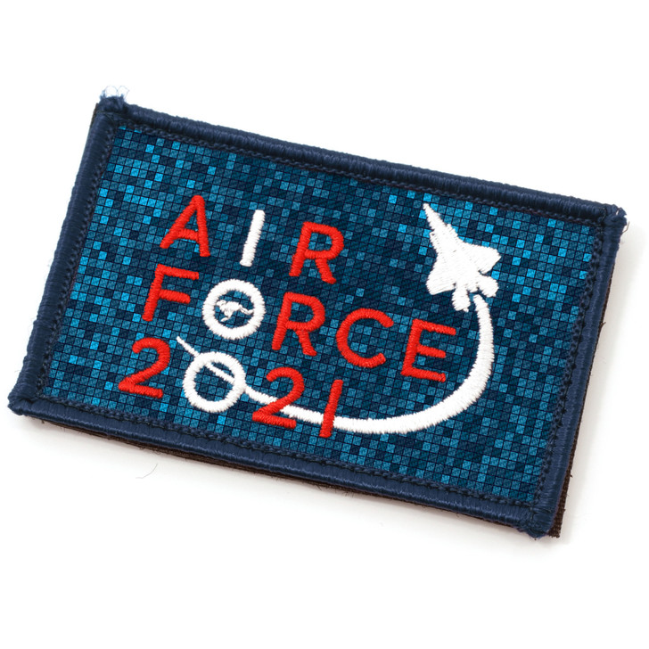 Air Force 100 Uniform 80*50mm Embroidered Patch.