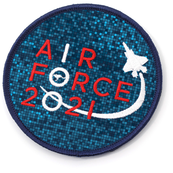 Air Force 100 Uniform 90mm round embroidered patch
