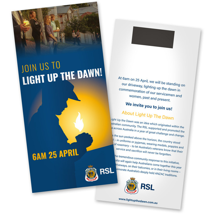 Light up the Dawn - Neighbourhood Invitations