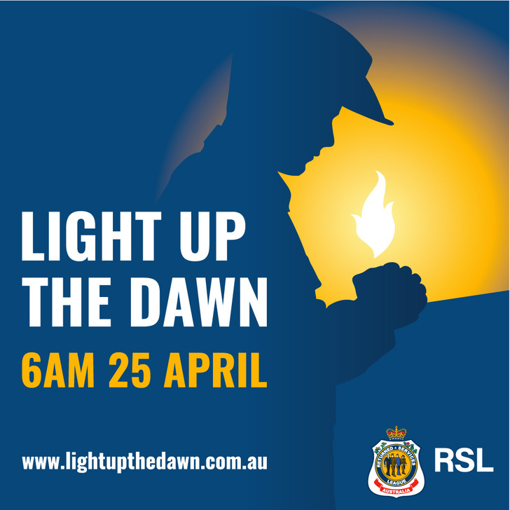 Light up the Dawn - Letterbox Sign