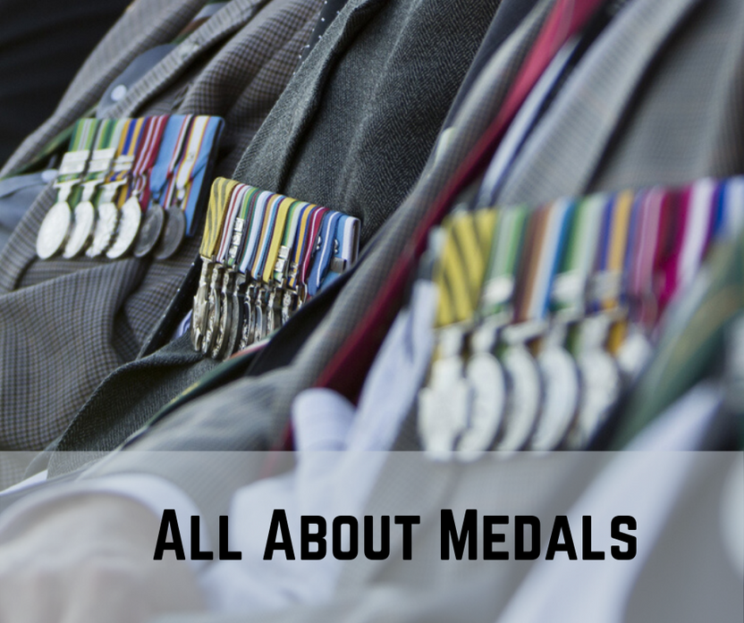 ALL ABOUT MEDALS