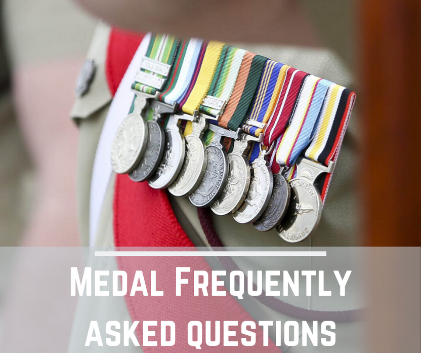 Medal - Frequently Asked Question