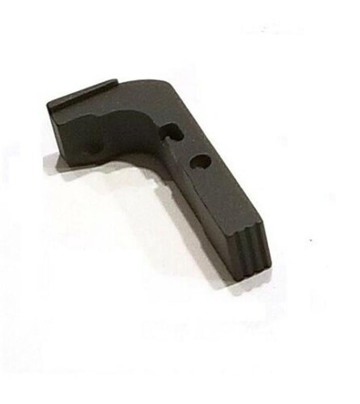 CDS Aluminum Extended Magazine Release For GEN 1-3 Glock Gray Cerakote