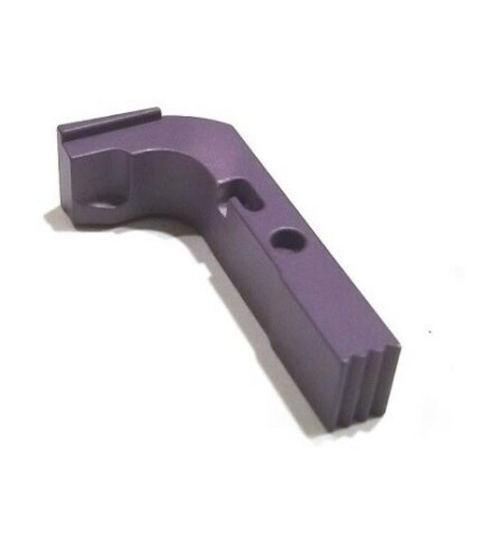 CDS Aluminum Extended Magazine Release For GEN 1-3 Glock Purple Cerakote