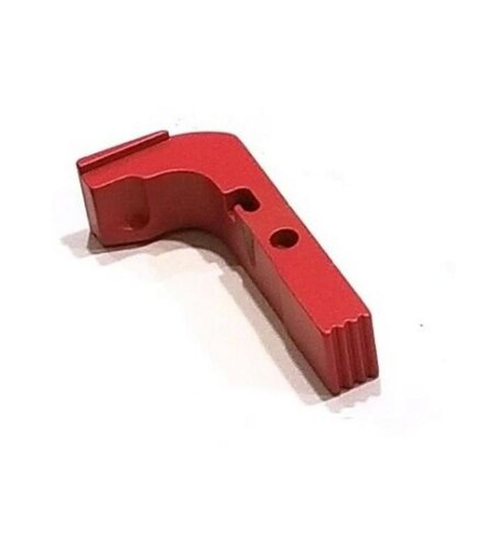 CDS Aluminum Extended Magazine Release For GEN 1-3 Glock Red Cerakote