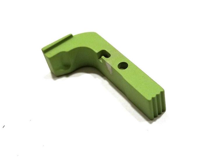 CDS Aluminum Extended Magazine Release For GEN 1-3 Glock Zombie Green Cerakote