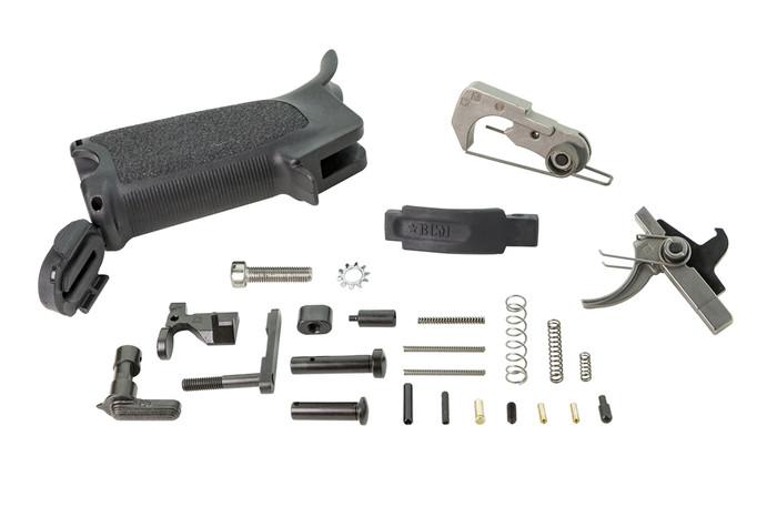 Bravo Company Enhanced Lower Parts Kit AR15 Black