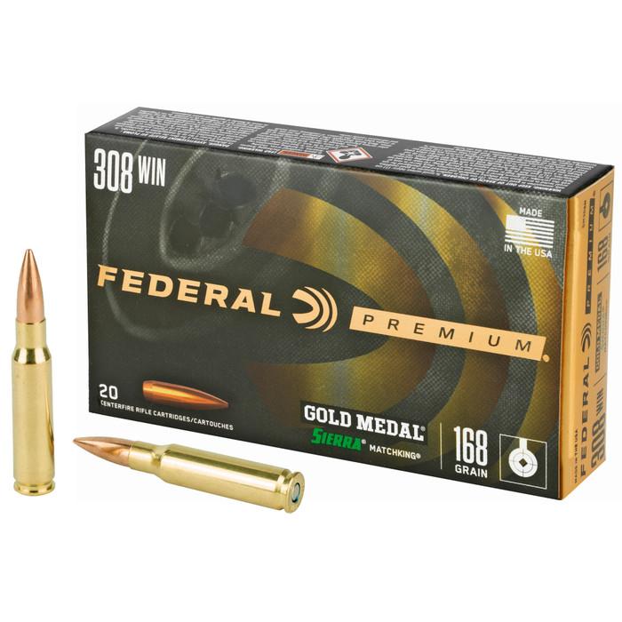 Federal Gold Medal Sierra Matchking .308Win 168 Grain