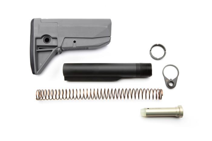Bravo Company BCMGunfighter Stock Kit MOD 0 For AR15/M4 Wolf Gray