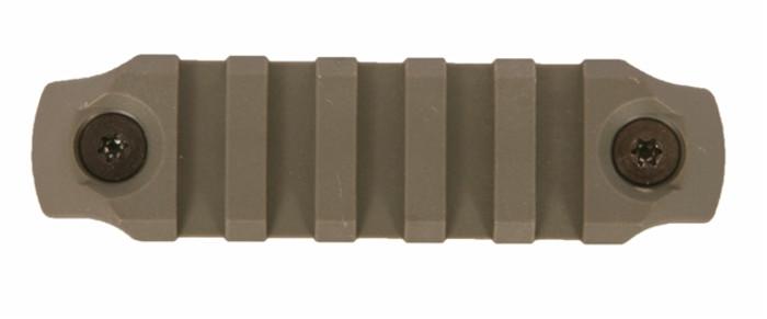 Bravo Company KeyMod Picatinny Rail Section - Nylon - 3 Inch Foliage