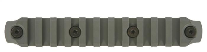 Bravo Company KeyMod Picatinny Rail Section - Nylon - 5.5 Inch Foliage