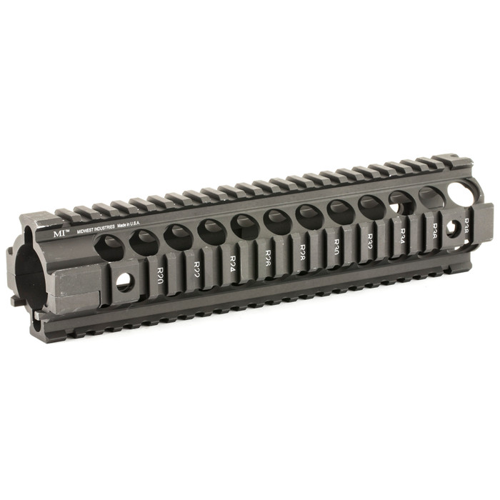 """Midwest Ind. 2 Piece Free Float Handguard 10"""" AR15/M4"""