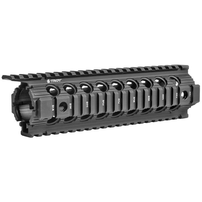"""Troy Ind. Enhanced Drop-In Battlerail 9"""" For AR15/M4 Black"""
