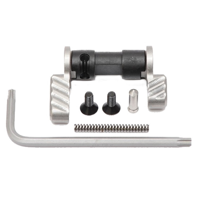 Battle Arms Development BAD-ASS Ambi Safety Selector AR15/AR10 Stainless